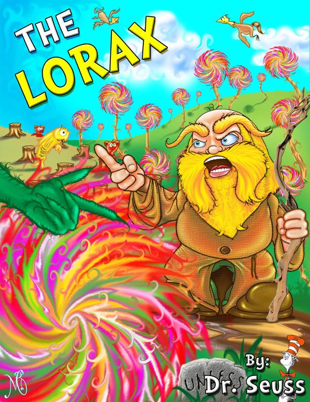 The Lorax ebook cover Version 2