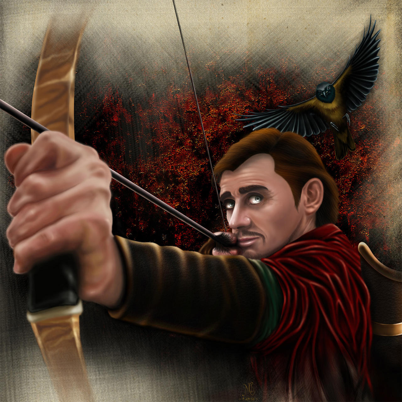 Bard the bowman art