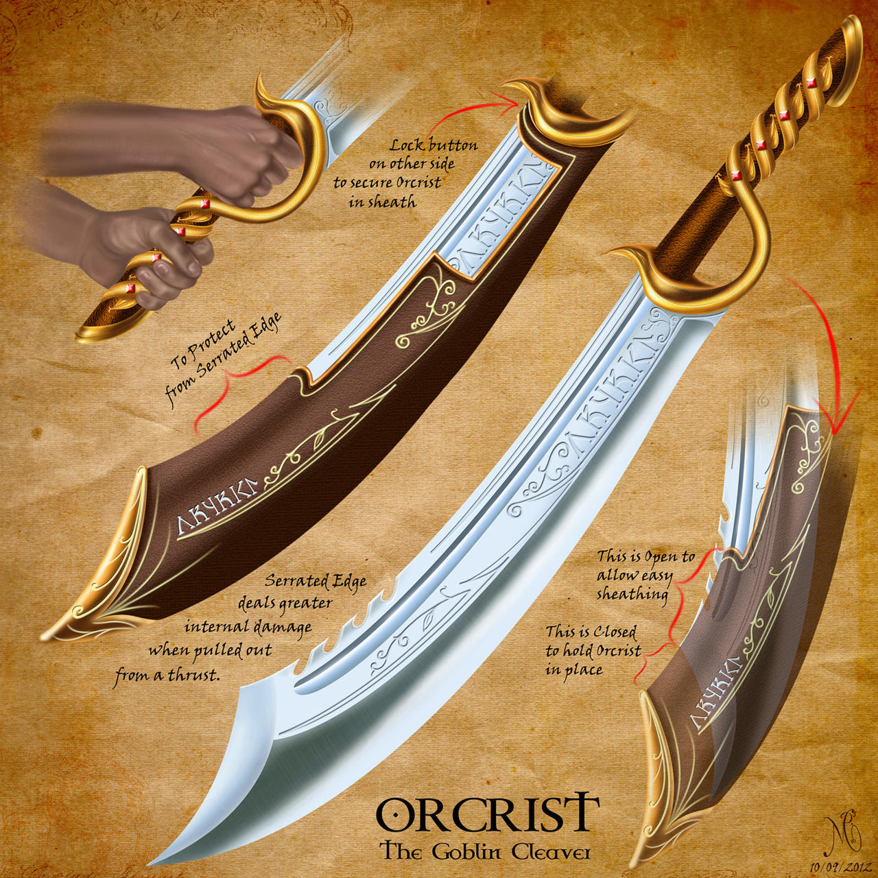 Orcrist Lord Of The Rings