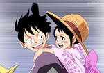 One Piece 912 - Luffy tama