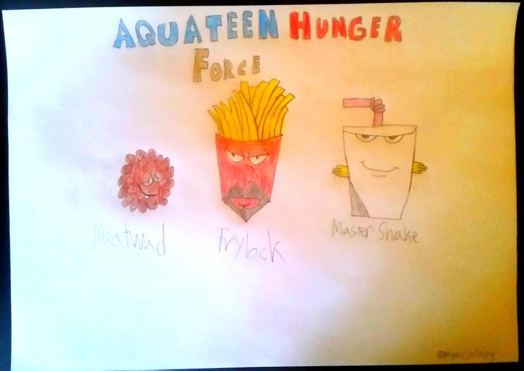 Aqua Teen Hunger Force by MiguelofKing