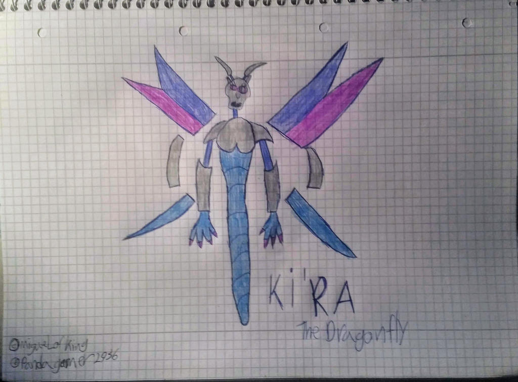 Ki'ra the Dragonfly by MiguelofKing