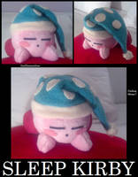 Sleep Kirby by iwannabeaturnip