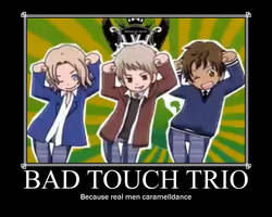 APH bad touch trio poster by Yusacream