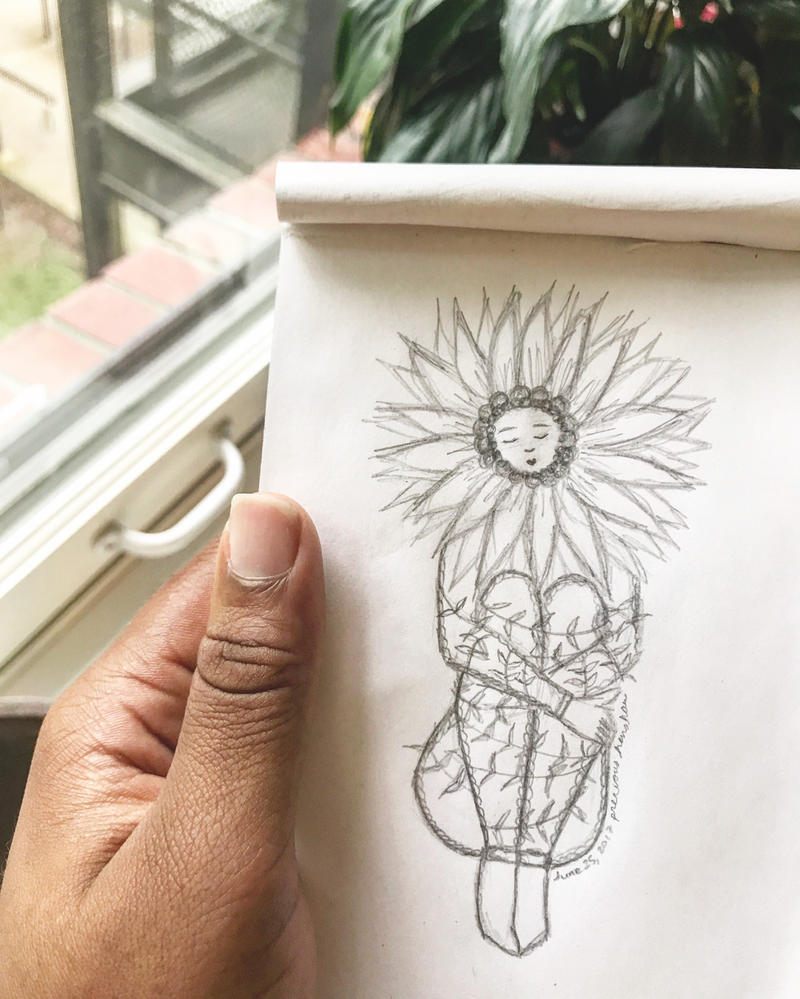 The Sunflower by PreciousHenshaw