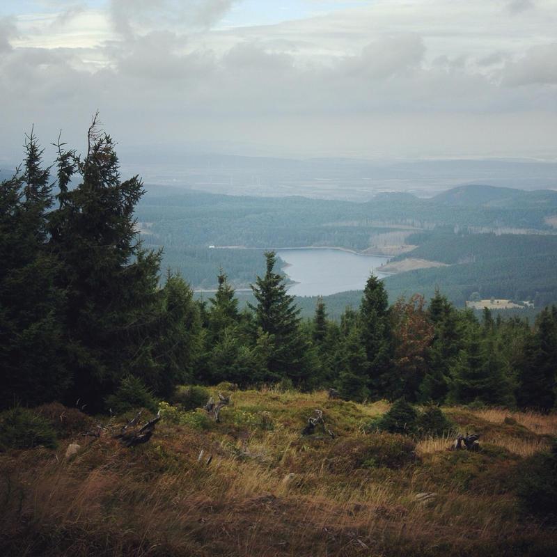 Harz landscape by Noirerora