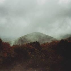 Misty harzmountains by Noirerora