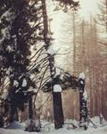 Snowy heartsmountains