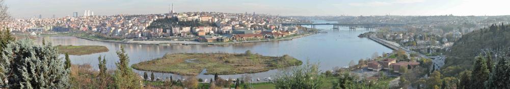 Istanbul Pier Loti Hill View 2 by karpuzpeynir
