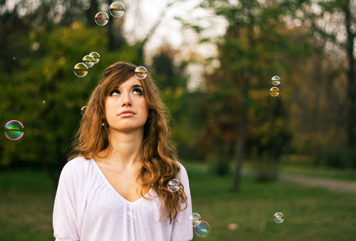 bubbles around