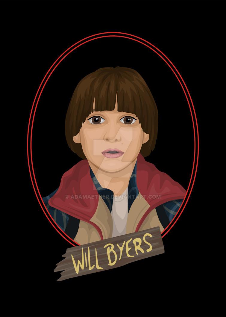 Will Byers By Adamaether On Deviantart