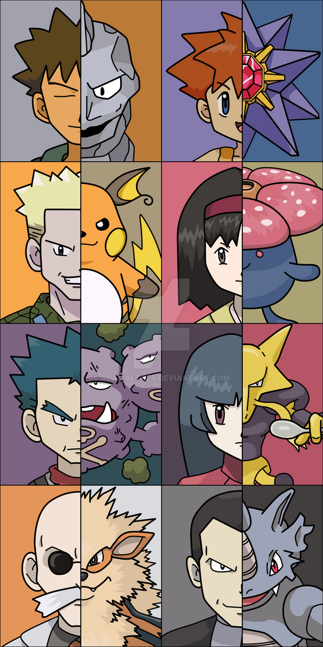 Kanto League by AdamAether