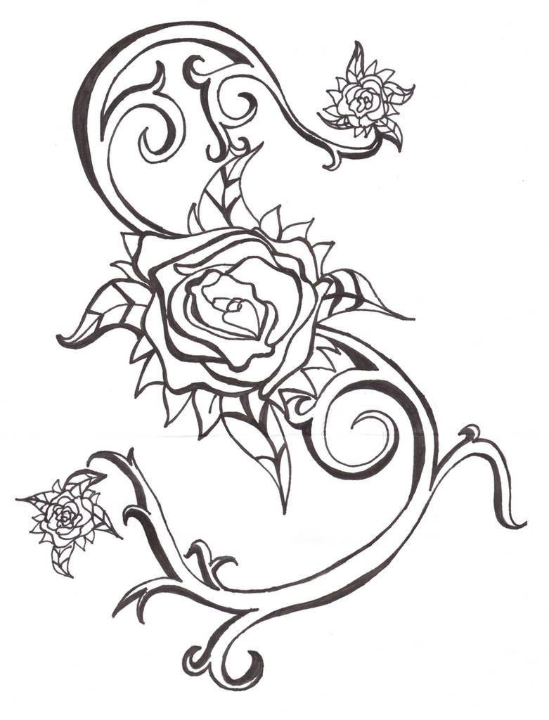 Tattoo Design :BandW: by Miscellaneously-Kina on DeviantArt