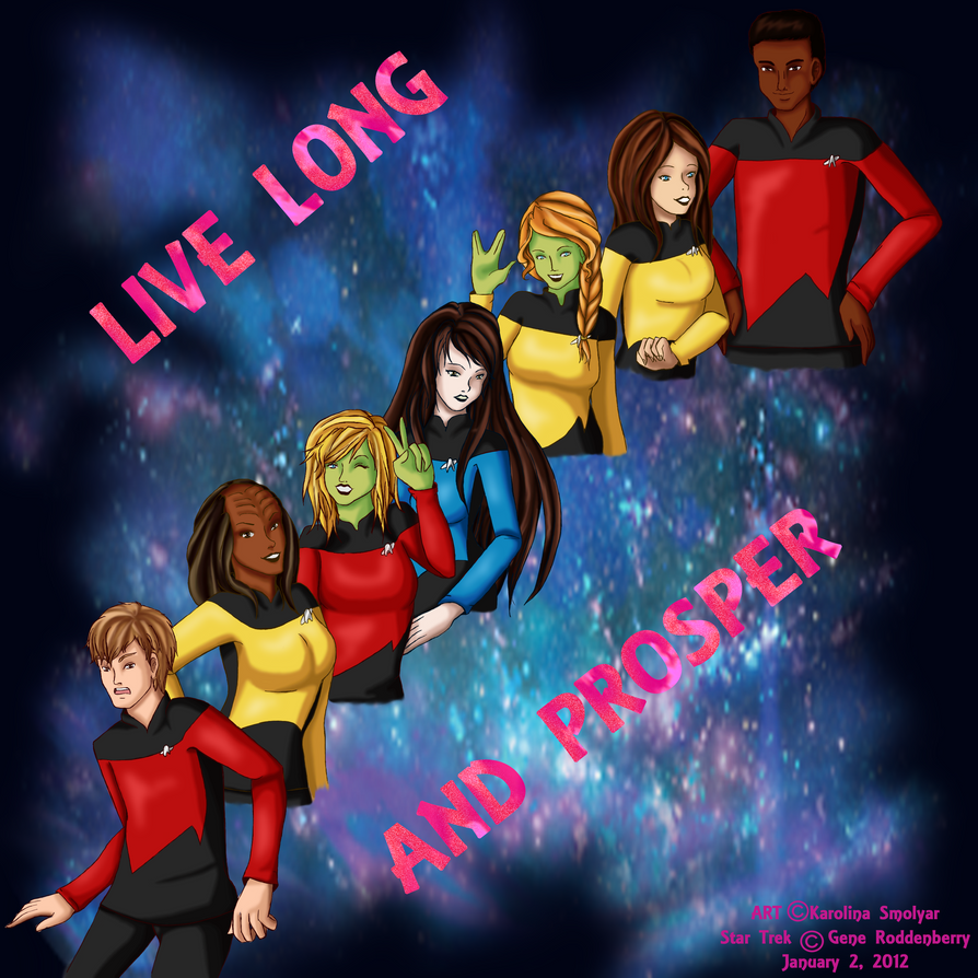 .:LIVE LONG AND PROSPER:. by Miscellaneously-Kina