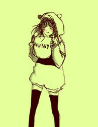 Winnie the pooh girl by BadBurger
