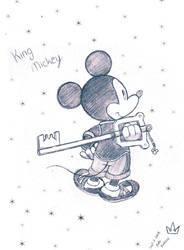 King Mickey by SukiKokoro