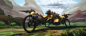 bike by polosatkin