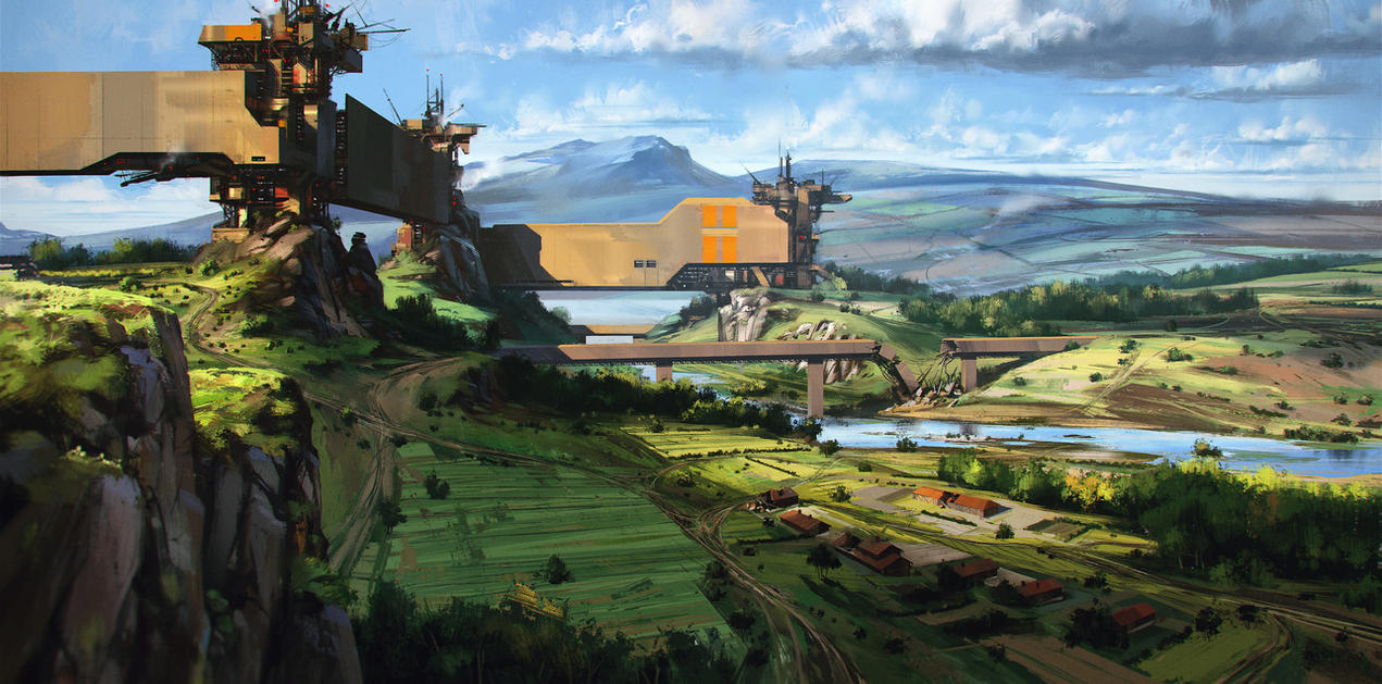 landscape by polosatkin