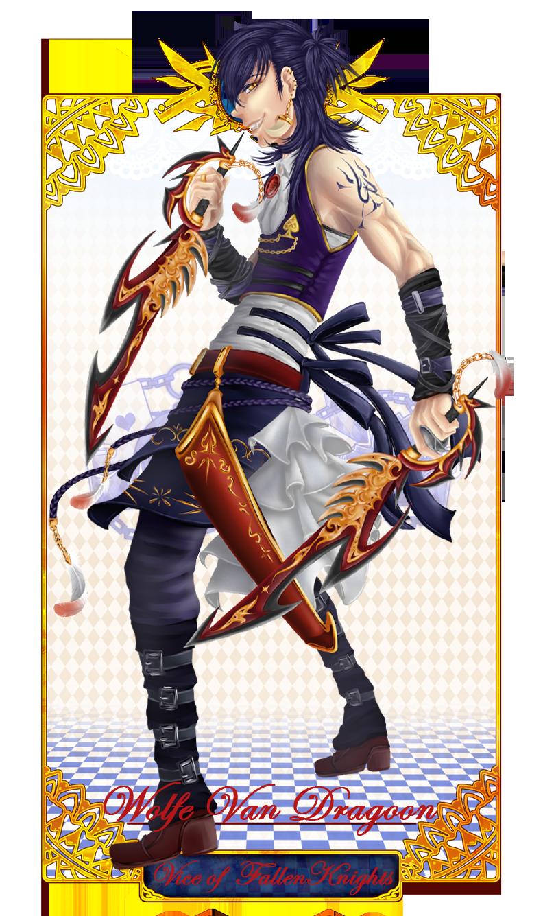 xX CH Xx Wolfe Van Dragoon by Meguru-sama