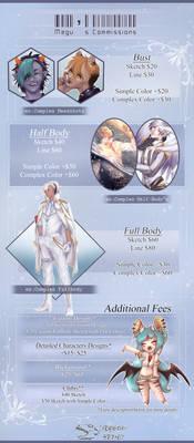 Megu's Commission Info