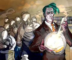 zombie scientist by Silsol