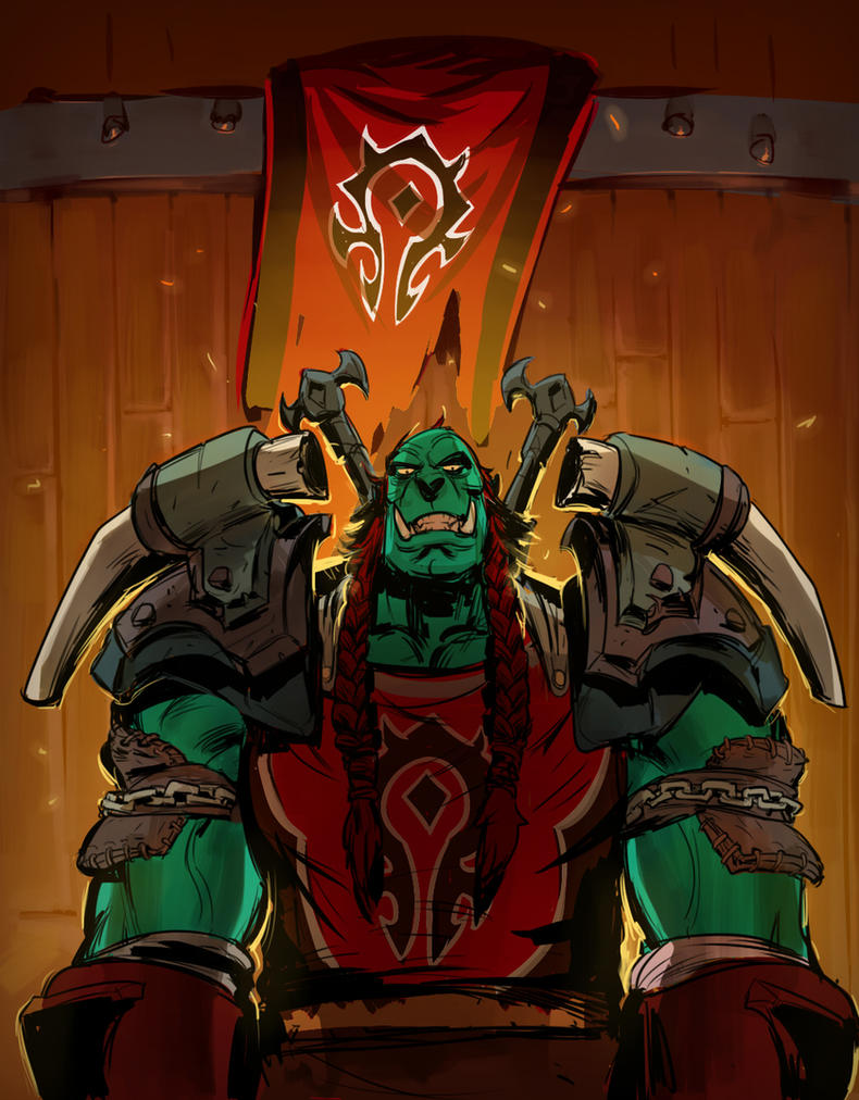orc warrior by Silsol