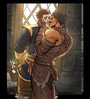 DA:I inquisitor/dorian by Silsol