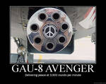 Demotivational Poster: GAU-8
