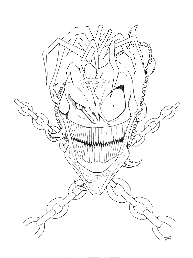 Gorgonite Coloring Pages Coloring - 203.4KB