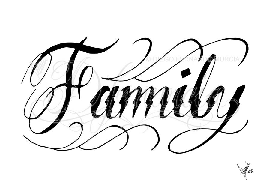 Family Black By Dfmurcia On Deviantart