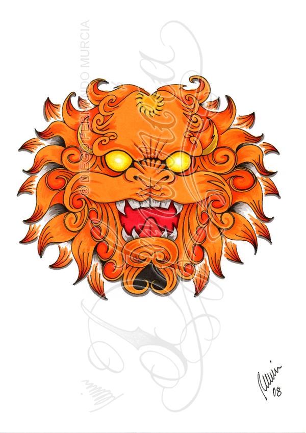 Foo Dog Tattoo Best Ink