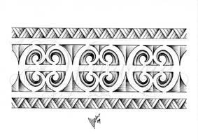 Polynesian armband 02 by dfmurcia