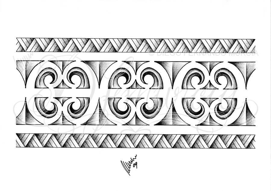 Populares Polynesian armband 02 by dfmurcia on DeviantArt AS25
