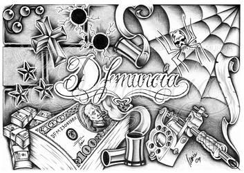 DFMURCIA chicano styled by dfmurcia