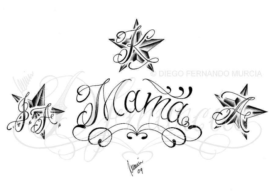 Mama Tattoo Designs