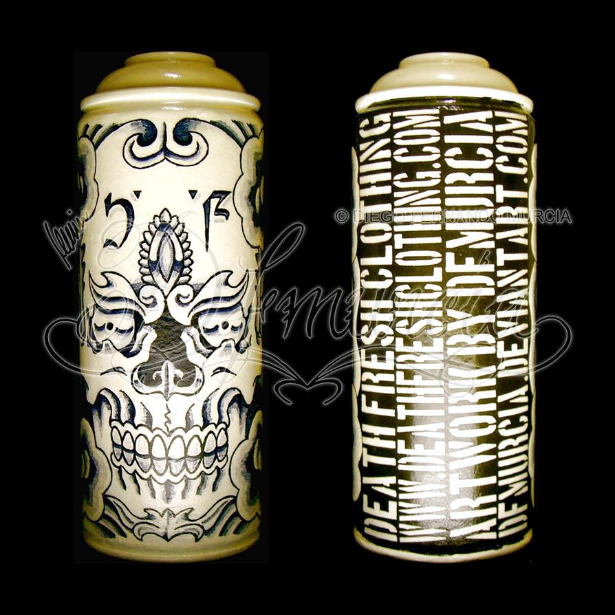 Spray Paint Skull