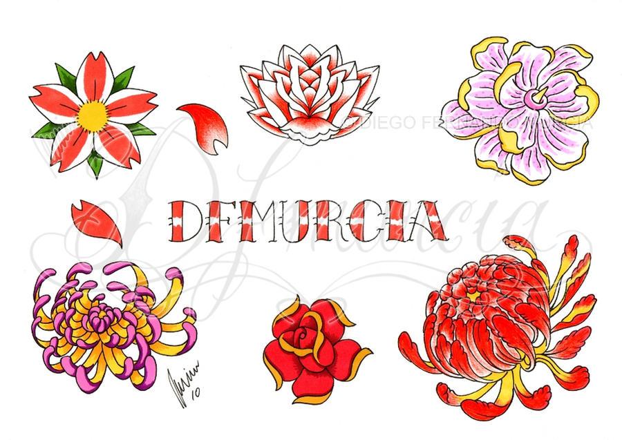 Flowers Flash Sheet By Dfmurcia On Deviantart