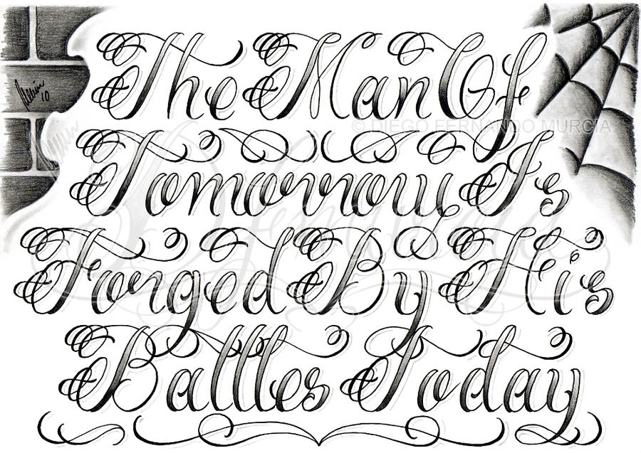 The Man Of Lettering By Dfmurcia