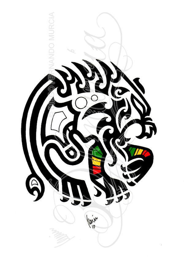 tribal rasta lion by dfmurcia on deviantart. Black Bedroom Furniture Sets. Home Design Ideas