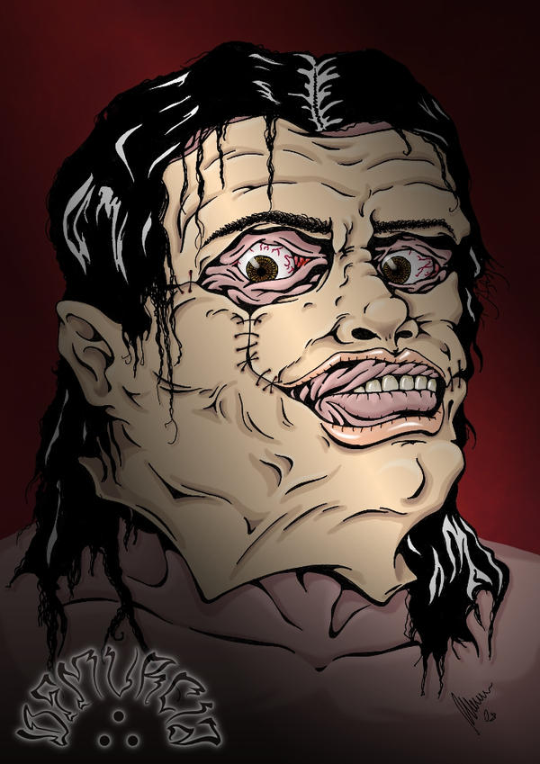 leatherface wallpapers. Leatherface close -coloured- by *dfmurcia on deviantART