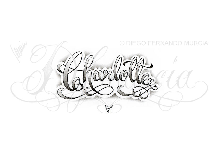 Charlotte lettering by dfmurcia on DeviantArt