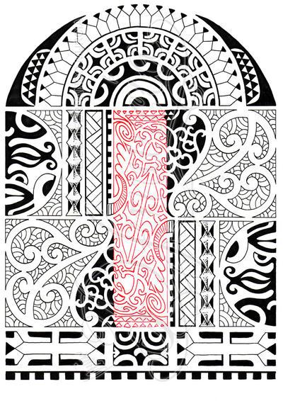Polynesian half-sleeve 03 by dfmurcia on DeviantArt  Polynesian half...