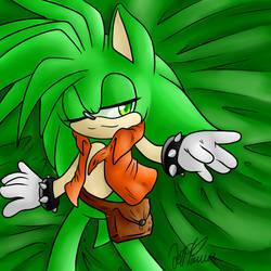 green over zealous by JezzTheHedgehog