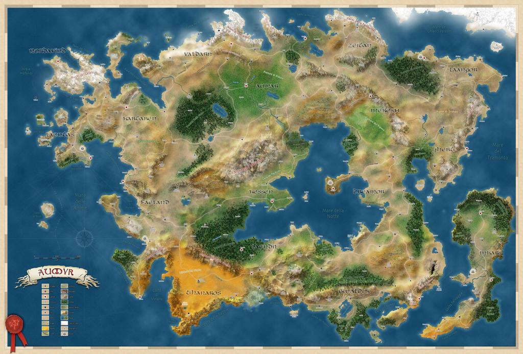 Aumyr World Map (ITA) by Aumyr-it