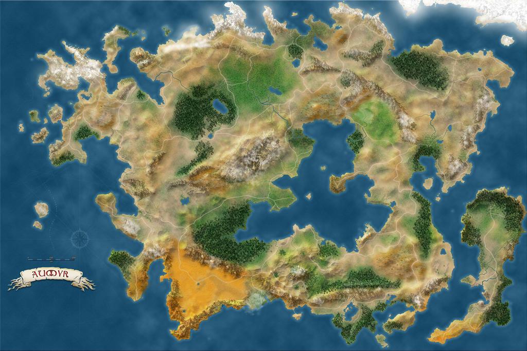 unlabeled fantasy world map Aumyr World Map Unlabeled By Aumyr It On Deviantart