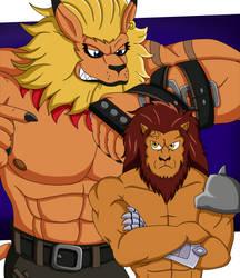 Swordsman Lions