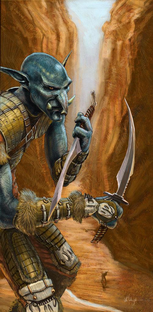 WoW Troll Rogue by Kimagu