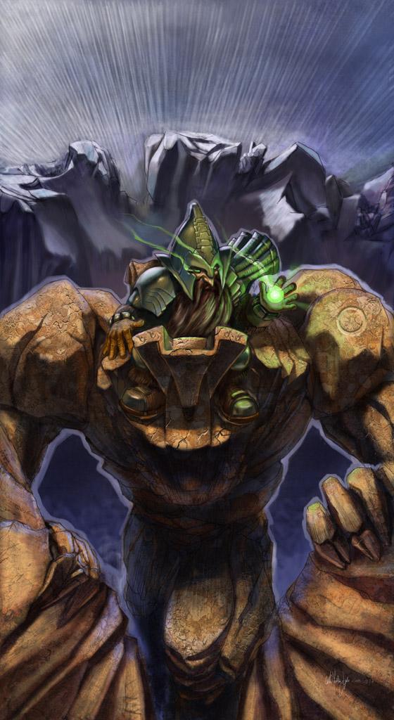 Dwarven Rockrider by Kimagu