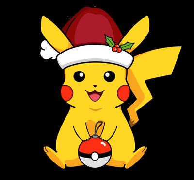 Christmas Pikachu.Christmas Pikachu By Kandi Kidz On Deviantart