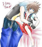 Yaoi OF Sora and RIku